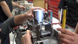 2 Stroke Cylinder Installation Procedures and Concerns with the Piston Rings