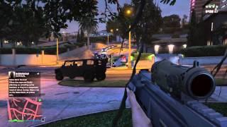 GTA 5 Online: Tree hideout! (HD)