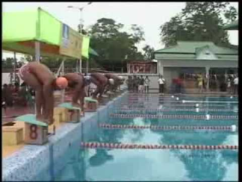 State level swimming competition at Jorhat attracts many participants.