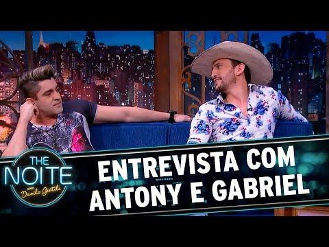 Entrevista com Antony e Gabriel   The Noite (01/11/17)