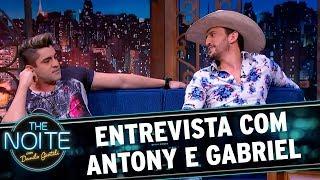 Entrevista com Antony e Gabriel | The Noite (01/11/17)