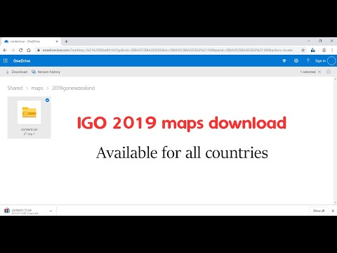 How And Where To Download IGO 2019 Maps For Free And Fast?