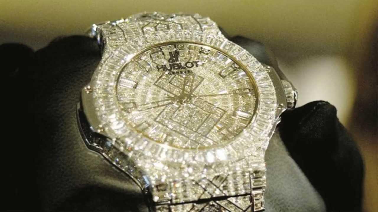 EL RELOJ MAS CARO DEL MUNDO. 5 millones de dolares. 282 diamantes , YouTube