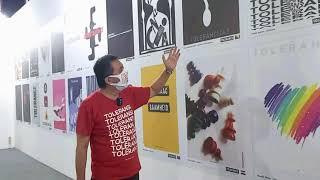 Tolerance poster show 2020  - Mirko Ilić & WGD