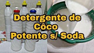 MELHOR DETERGENTE DE COCO QUE FIZ – SEM SODA E SUPER FÁCIL