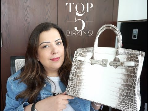 Top 5 of my rarest Hermes Birkins   |  How She Spends It