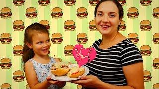 Простые рецепты с Китти: горячие бутерброды | Волшебница Китти