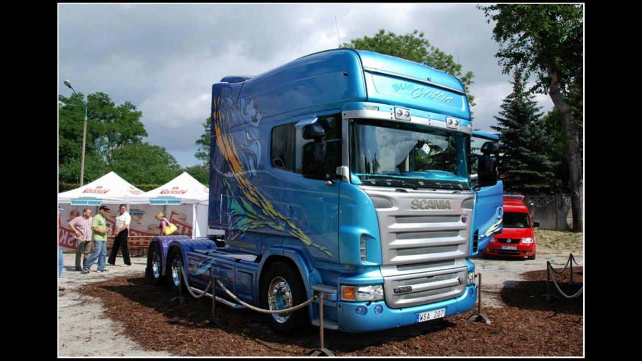 Scania V8 Trucks - YouTube