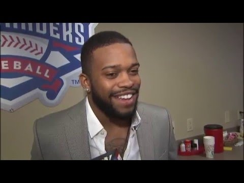 Interview with Delino DeShields, Jr. at Texas Rangers Winter