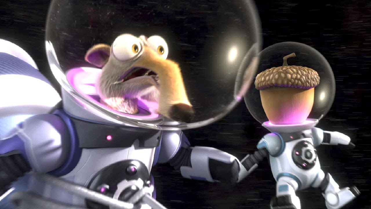 ice age 5 short scrat in space youtube