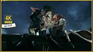 Batman Arkham Knight - Creature of the Night / Man-Bat | No HUD & 4K/60fps Gameplay