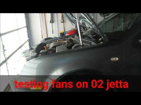 volkswagen jetta fan testing