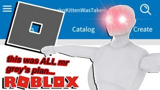 I HAVE THE ANSWER TO WHY THE ROBLOX LOGO IS GREY