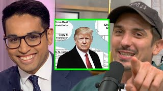 Saager From The Rising: Trump Is A Tax Cheat BC Of Nancy Pelosi | Andrew Schulz and Akaash Singh