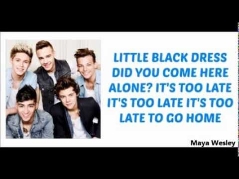 One Direction Little Black Dress Lyrics