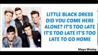 One Direction - Little Black Dress (Lyrics and Pictures) (Album Midnight Memories)