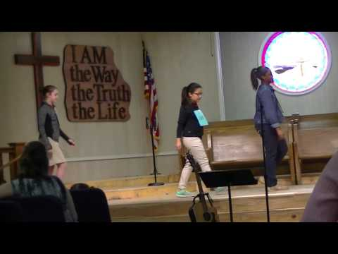 Salem Sayers Baptist Academy - 6th & 8th Grade Chapel Skit