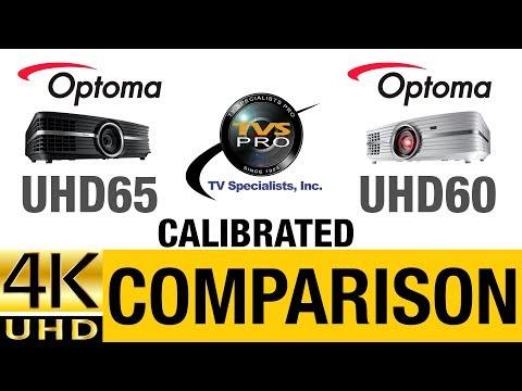 Optoma UHD65 vs  UHD60