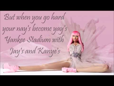 Fly By Nicki Minaj Ft. Rihanna With Lyrics [clean]