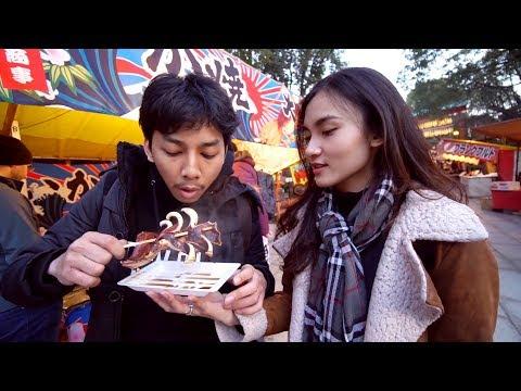 KYOTO STREET FOOD & CHALLENGE SUHU 4 DERAJAT C WITH MR. K - JAPAN VLOG DAY 5