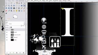 Curso de GIMP. Parte 13: Herramienta de texto y convertir texto a dibujo