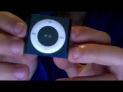 Ipod Shuffle Instructions 2gbblue Youtube