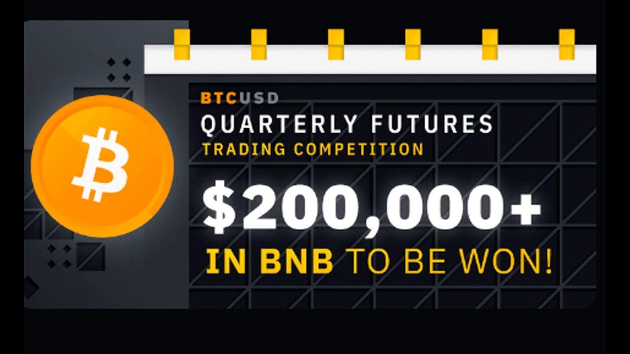 Конкурс на $200 000 на квартальных фьючерсах Binance + урок по торговле на Binance Futures
