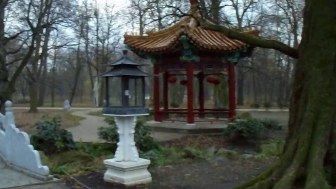 Ogród Chiński łazienki Królewskie W Warszawie