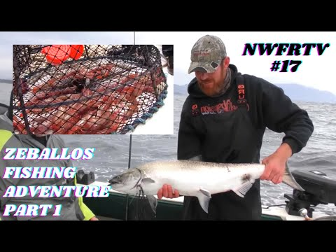 NWFRTV#17 | Zeballos BC West Coast Charter Fishing - Part 1