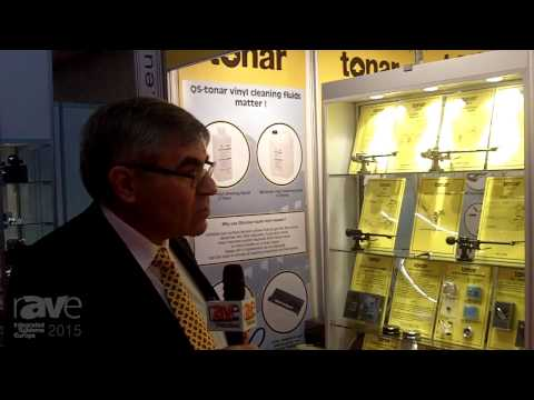 ISE 2015: Tonar International Discusses Their Analog Music Products and the Comeback of Vinyl