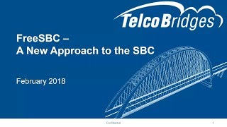 FreeSBC - A New Approach to the SBC Webinar thumbnail