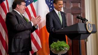 The President, the Taoiseach, and the Shamrocks