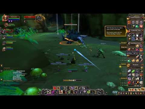 World Of Warcraft - BFA 20 Level Dungeon with Warlock