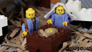 THE CHRISTMAS STORY FOR KIDS - told with LEGO Stop Motion