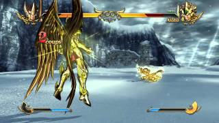 Saint Seiya: Soldiers' Soul combat fraternel
