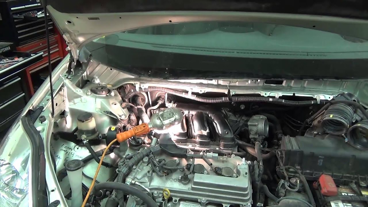 2011 toyota sienna wiring diagram emerson sensi thermostat 2008 spark plug change youtube