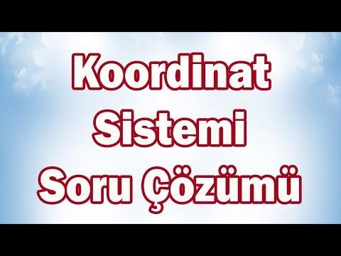 Koordinat Sistemi ÖZEL Soru Çözümü | 7. Sınıf Matematik (Canlı Yayın Tekrarı)