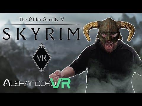 SKYRIM VR EN OCULUS RIFT - Mis Impresiones