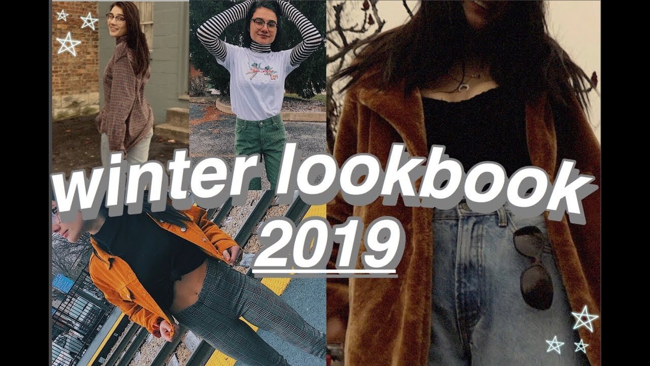 WINTER LOOKBOOK 2019 *what 2 wear in the cold* 2