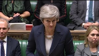 Theresa May faces MPs during PMQs in the Commons | ITV News