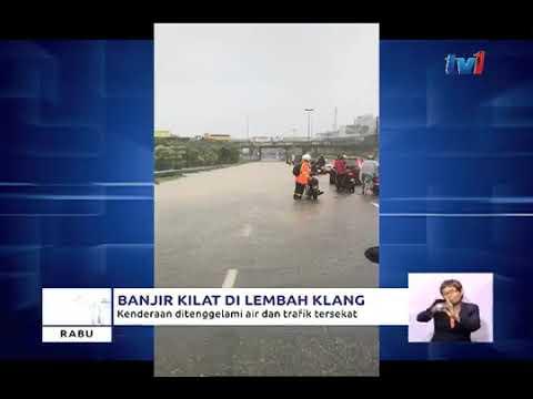 Banjir Kilat di Lembah Klang 24 Jan 2018