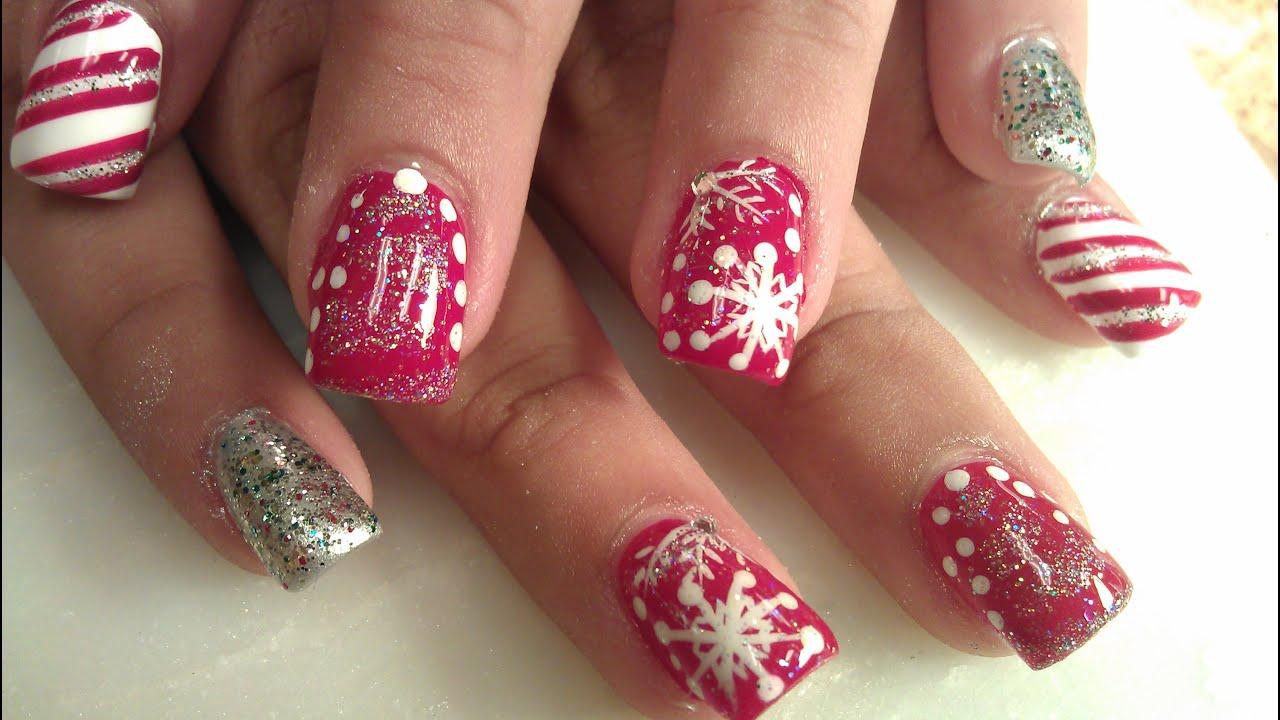 Winter Wonderland Nail Art Designs Youtube