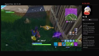 Fortnite PS4 LIVE  FROM SCOTLAND
