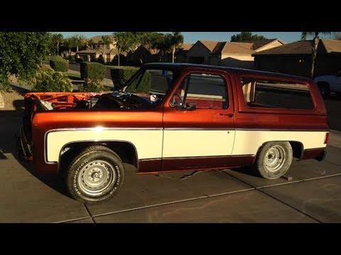 1977 Chevrolet K5 Blazer Restoration Project