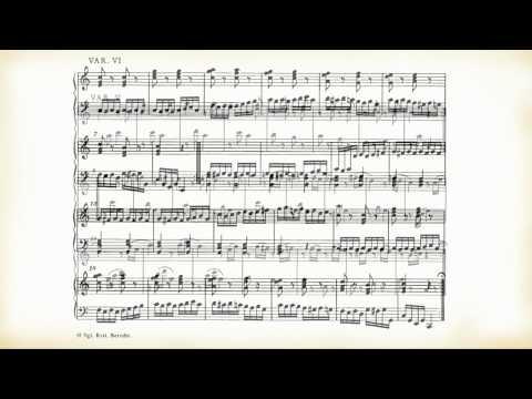 "Mozart: Dodici variazioni per pianoforte su ""Ah, vous dirais-je, Maman"" KV265"