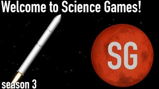 WELCOME TO SCIENCE GAMES! (season 3)