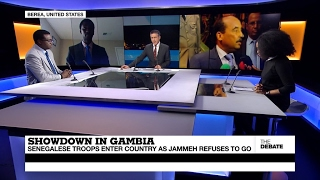 Showdown in Gambia  Senegalese troops enter as Jammeh refuses to go (part 2)