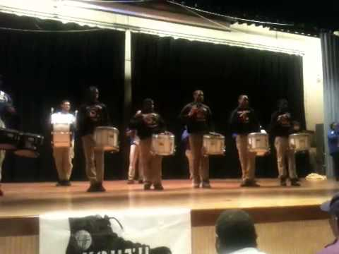 Marching Cobras turn it up at Poughkeepsie Middle School