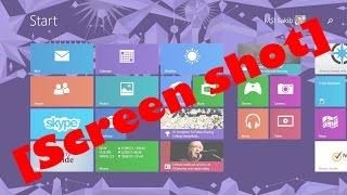 How to Take a Screenshot on Windows 8.1 Laptop in 2015 without any Software