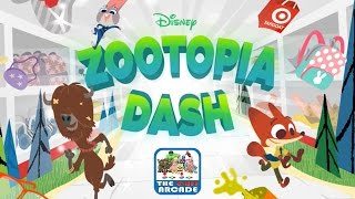 Zootopia Dash - Collect The Items At Targoat As Fast As Possible (Gameplay, Sneak Peek Clip)
